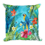 Jungle Parrot Premium Pillow