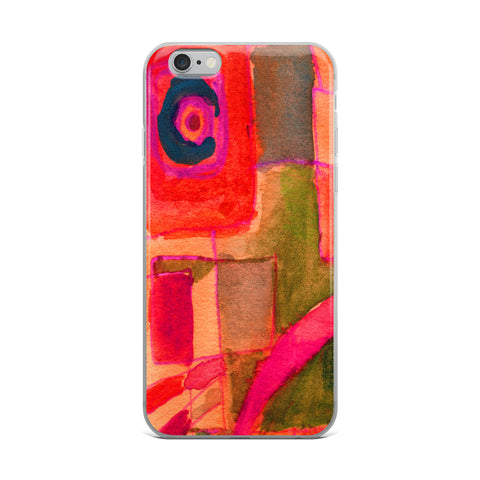 A Window Abstraction Cell Phone Case - Fits iPhone X and Other Sizes 5-X