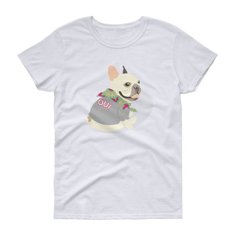Paris METRO Couture: OUI Women's short sleeve t-shirt