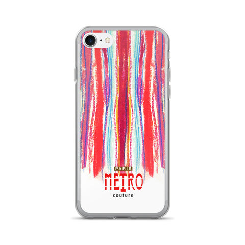 Paris METRO Couture: Draw A Line iPhone 7/7 Plus Case - ParisMETROCouture.com