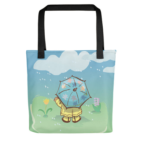 Madison Bear - April Showers Tote bag