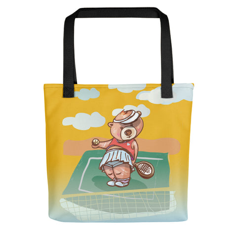Madison Bear - Tennis Tote bag