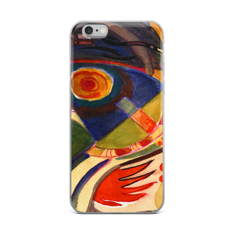 Abstraction Wave 3- Cell Phone Case - Fits iPhone X and Other Sizes 5-X