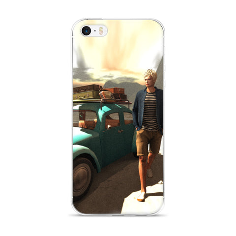 The Illustrative Art of Satus, Traveler, Cell Phone Case - Fits iPhone X and Other Sizes 5-X