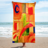 Plant Life by R.Freeland Beach Towel