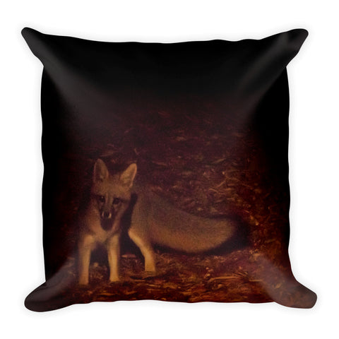 The Little Brown Fox - Square Pillow