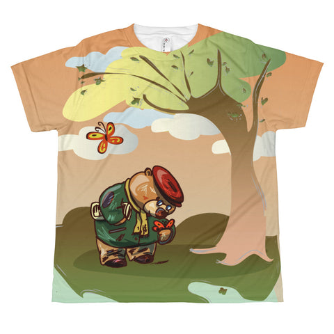 Madison Bear - The Autumn All-over youth sublimation T-shirt