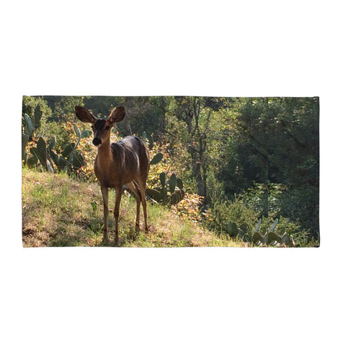 The Deer by C. Kellerher Beach Towel
