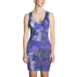 Paris METRO Couture: Falling Leaves Dress in Peony - ParisMETROCouture.com