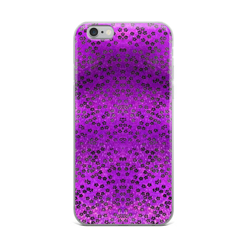 On My Way Little Flower- Purple Cell Phone Case - Fits iPhone X and Other Sizes 5-X