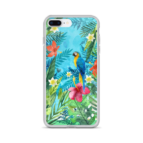 Jungle Parrot iPhone Case