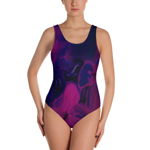 Night Flower Exclusive One-Piece Swimsuit