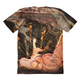 Annabel Lee by Amanda Magick Sublimation women's t-shirt