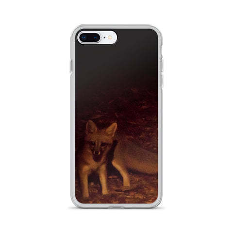 The Little Brown Fox - Cell Phone Case - Fits iPhone X and Other Sizes 5-X