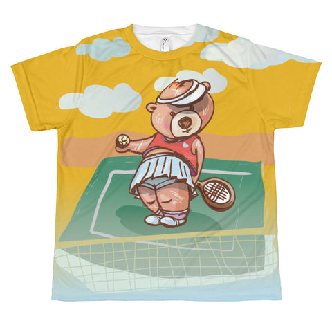 Madison Bear - Tennis All-over youth sublimation T-shirt