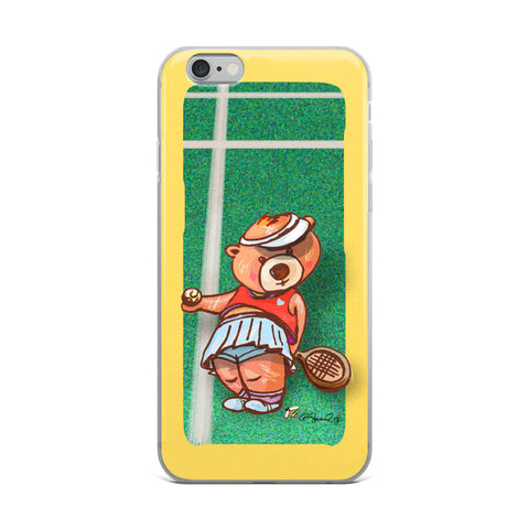 Madison Bear by R. Freeland  Cell Phone Case - Fits iPhone X and Other Sizes 5-X