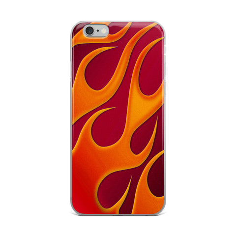 HotRod Flames Cell Phone Case - Fits iPhone X and Other Sizes 5-X