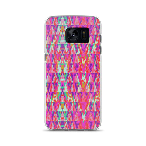 Zig-zag Abstract Peace Samsung Case