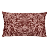Abstraction Petal in Pinks Rectangular Pillow