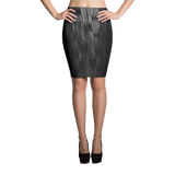 Paris METRO Couture: Weave Me In Pencil Skirt in Noir - ParisMETROCouture.com