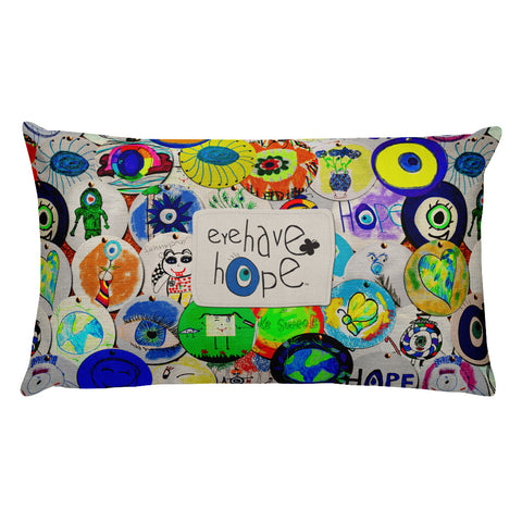 Eye Have Hope Premium Pillow