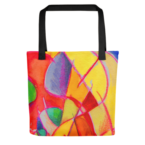 Abstraction Beach by R.Freeland Tote bag