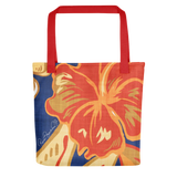 Hawaiian Vintage Tropical Tote Bag