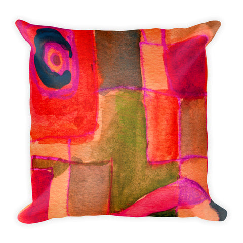 A Window of Abstraction - Square Pillow