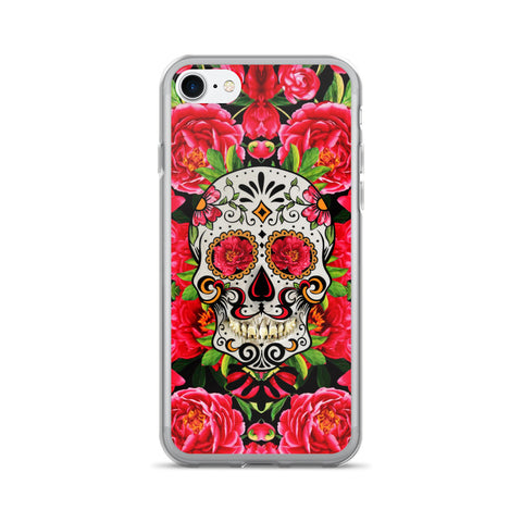 Paris METRO Couture: Collectable Sugar Skull iPhone 7/7 Plus Case - ParisMETROCouture.com