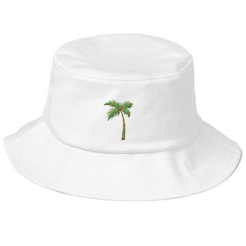 Palm Life - Old School Bucket Hat