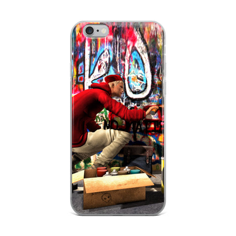 The Illustrative Art of Satus, Yes Avatars Graffiti Cell Phone Case - Fits iPhone X