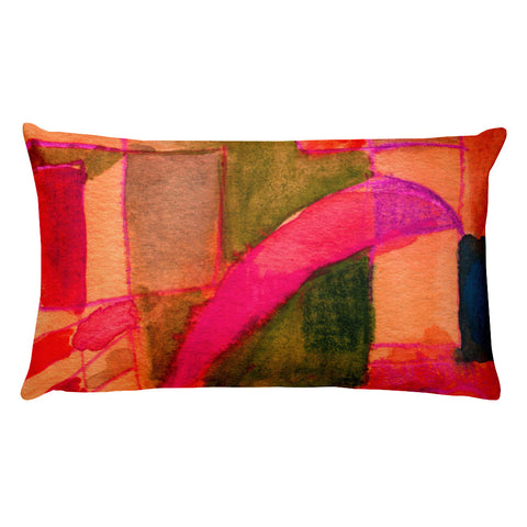 A Window of Abstraction Rectangular Pillow