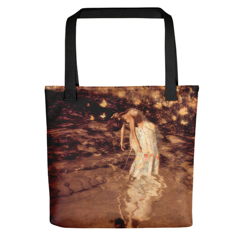 Water Petals by Amanda Magick Tote bag