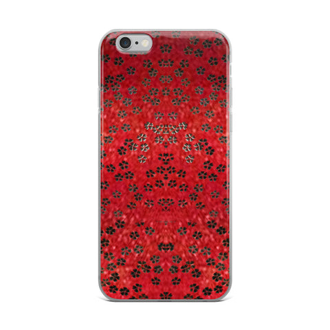On My Way Little Flower- Red Cell Phone Case - Fits iPhone X and Other Sizes 5-X