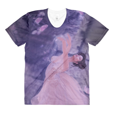Alluring Beauty by Amanda Magick Sublimation women's t-shirt