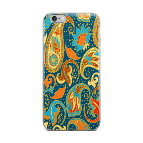 Paisley Power iPhone Case