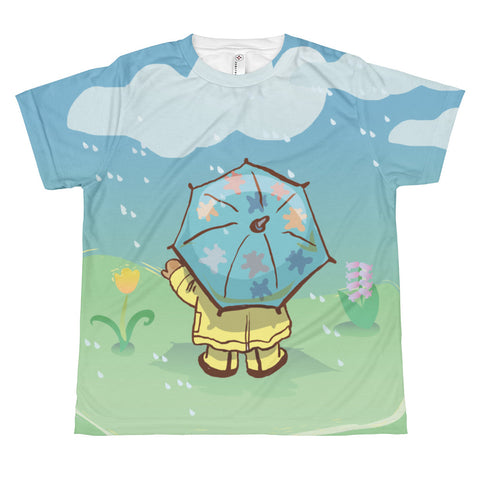 Madison Bear-April Showers All-over youth sublimation T-shirt
