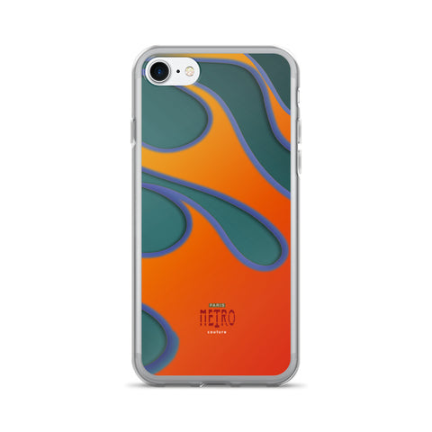 Paris METRO Couture: Collectable Flaming iPhone 7/7 Plus Case - ParisMETROCouture.com
