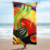 In My Heart by R.Freeland Beach Towel