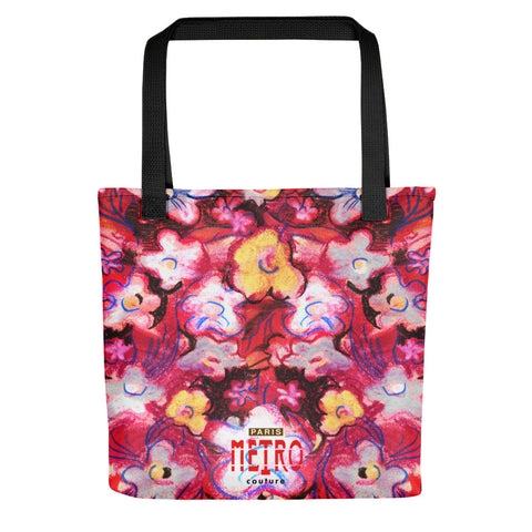 Paris METRO Couture: Posie Patch Tote - ParisMETROCouture.com