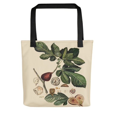 Botanical Plant: The Fig by R. Freeland - Tote bag