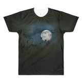 Paris METRO Couture: Man in the Moon Men's All-Over Printed T-Shirt - ParisMETROCouture.com