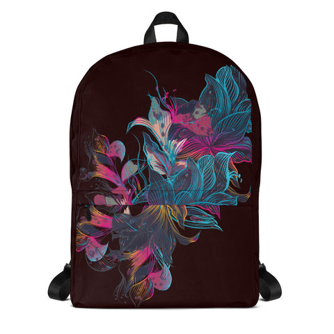 Liquid Floral Backpack