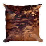 Water Petals by Amanda Magick Square Pillow