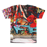The Illustrative Art of Satus, Yes Avatars Graffiti All-Over Printed T-Shirt