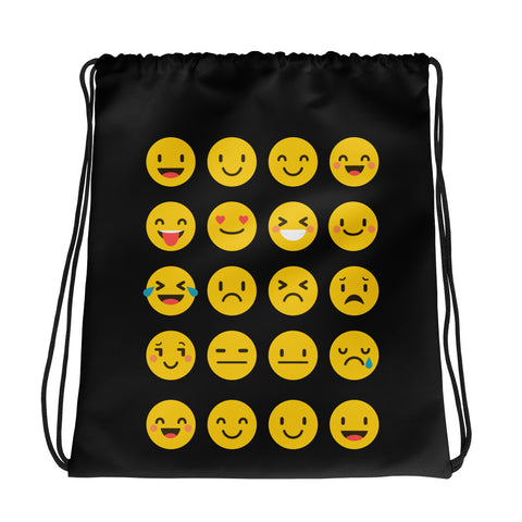 Emoji Drawstring bag
