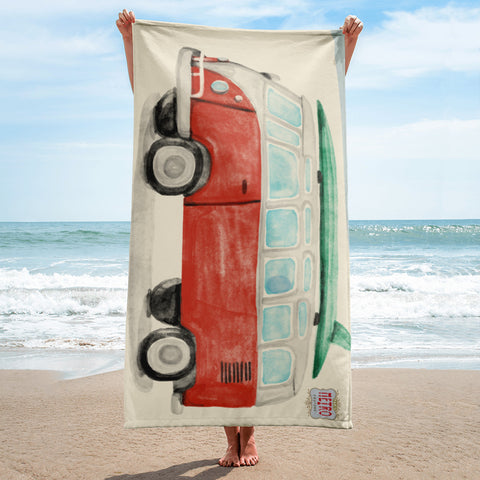 Beach Bound VW Towel