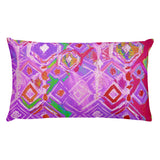 Crystal Rain - Lavender Rectangular Pillow