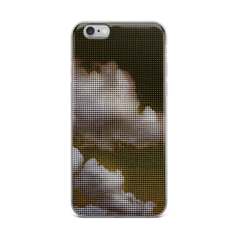 My Head is in the Clouds - Gold  Fits iPhone X Case and Other Sizes
