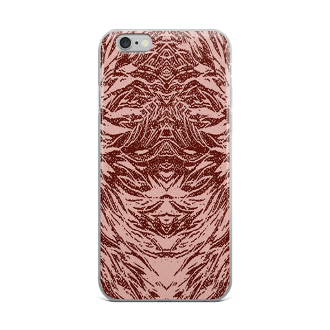 Abstraction Petal in Pinks Cell Phone Case - Fits iPhone X